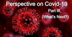 A Perspective on COVID-19, Part III (What's Next?) by Kevin Diehl