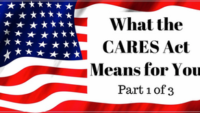 Big Relief--What the CARES Act Means for You (Part 1 of 3: Individuals) by Matthew Nee