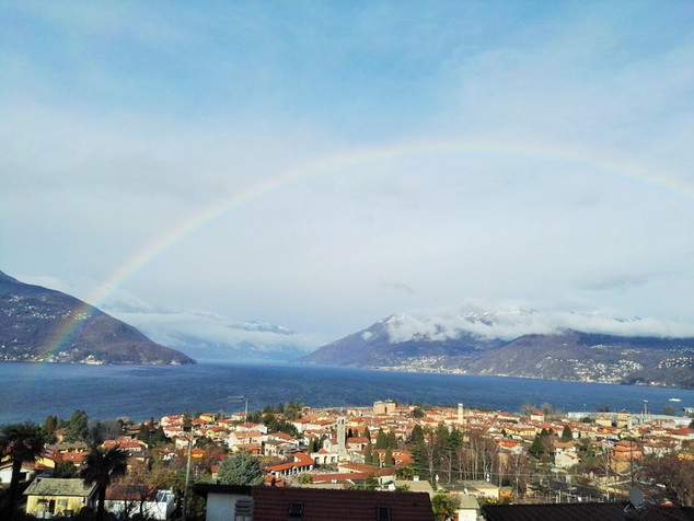 Arcobaleno in inverno