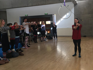 Preparing to Fly: A health symposium for aerialists and acrobats