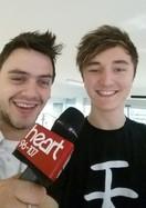 With Josh from Heart Radio