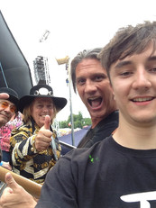 Backstage at the Big Weekend with SLADE!