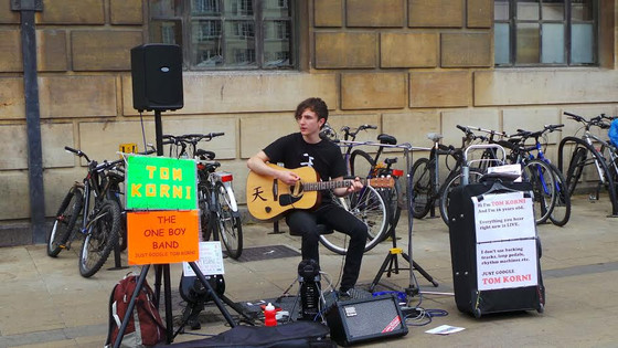 Cambridge Buskers and Street Performers Festival Week