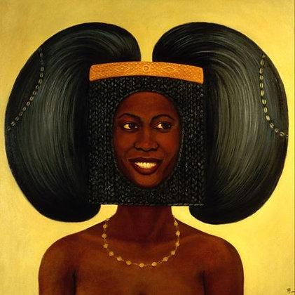 Voluminous Hair & Hair Frame