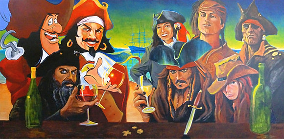 Pirates in the Tasting Room