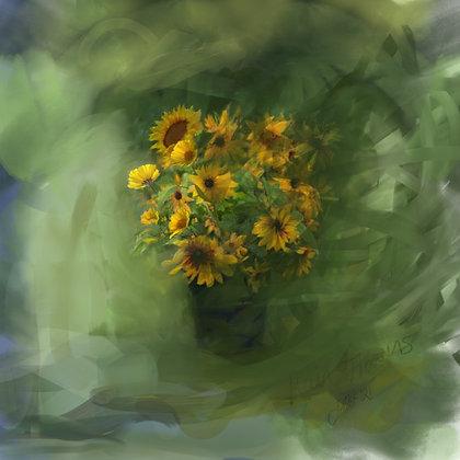 Sun Flower Rain Dance