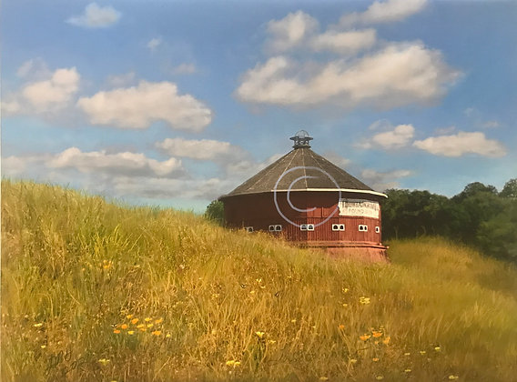 Round Barn, Last Summer (Limited edition 100)