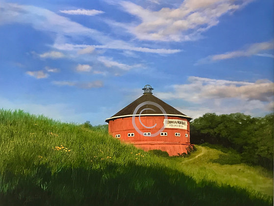 Round Barn, Last Spring (Limited edition 100)