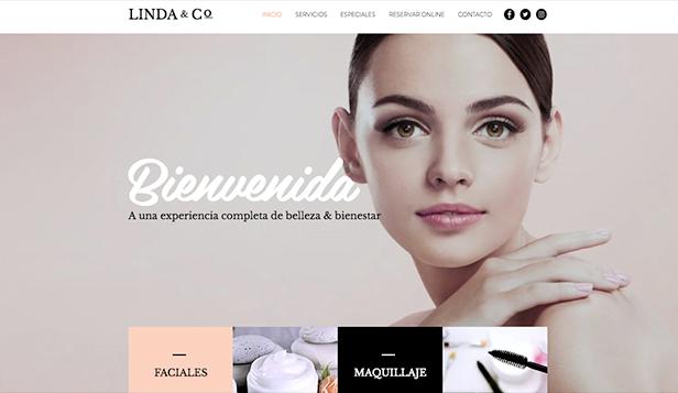 0ee455612 Moda y Belleza plantillas web – Salón de belleza