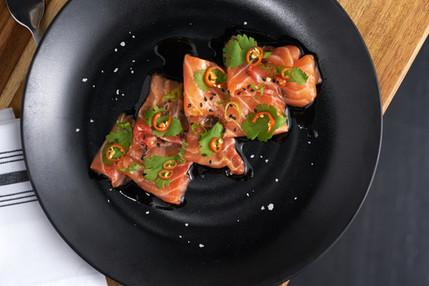 Salmon Crudo