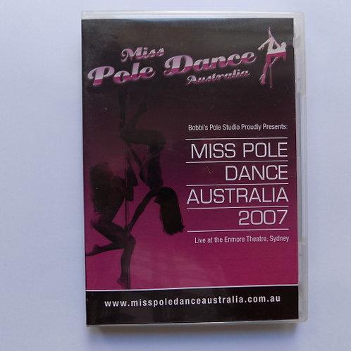 Miss Pole Dance Australia DVD