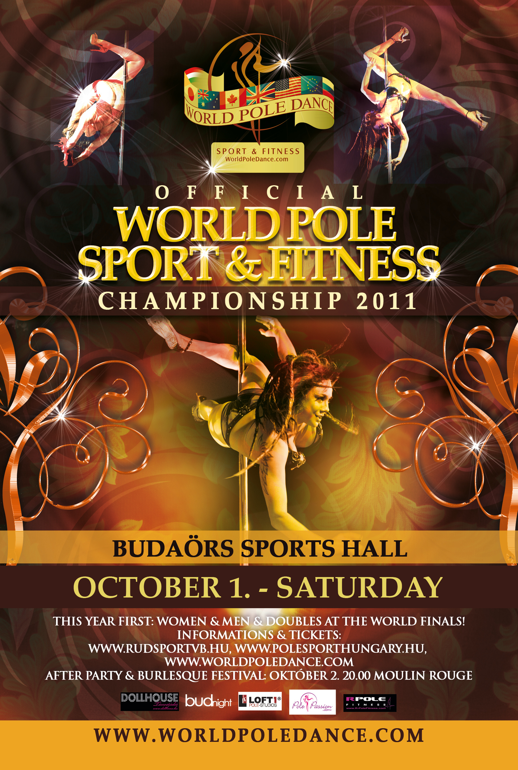 World Pole Dance Poster 2011