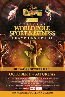 World Pole Dance Poster 2011