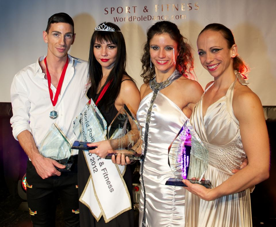 The winners World Pole Sport & Fitness
