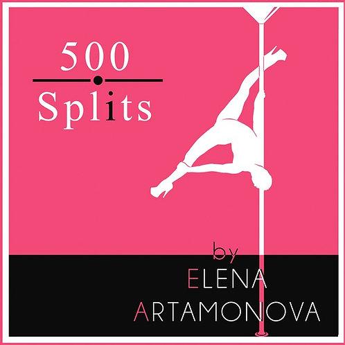 500 pole splits - Elena Artamonova