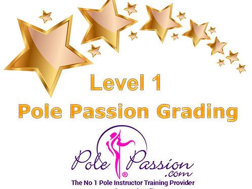 Online Pole Grading Certification - Levels 1-5
