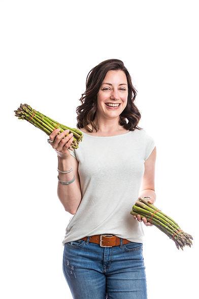 Lynn with Asparagus.jpg