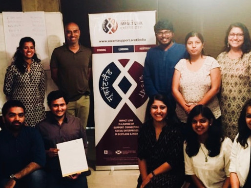 Scotland:India Impact Link: Fellows and Finalists 2018