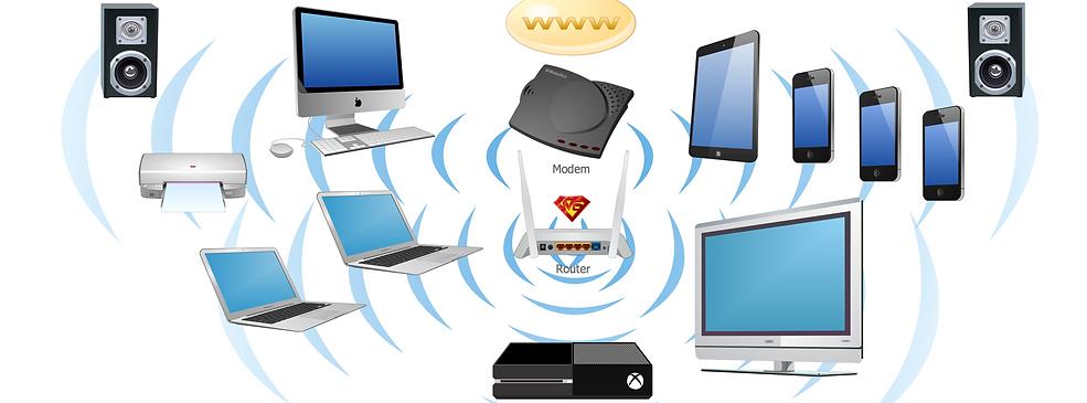 Wifi wireless network, internet, modem Ubiquiti AMPLIFI
