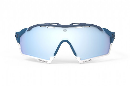RUDY PROJECT CUTLINE- MULTILASER ICE PACIFIC BLUE MATTE