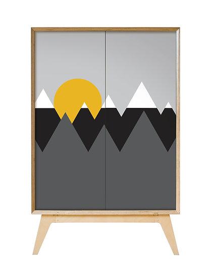 Mountain Peaks Cabinet