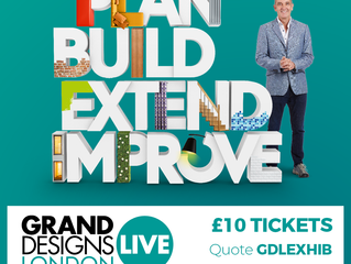 Scout & Boo at Grand Designs Live!