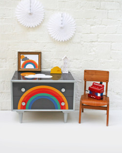 Large Rainbow_Chest of drawers