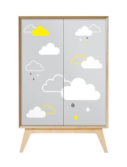 'Rain Clouds' Cabinet