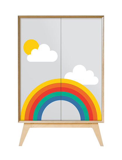 Rainbow Cabinet