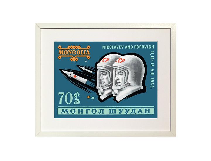 'Cosmonauts' Limited Edition Print