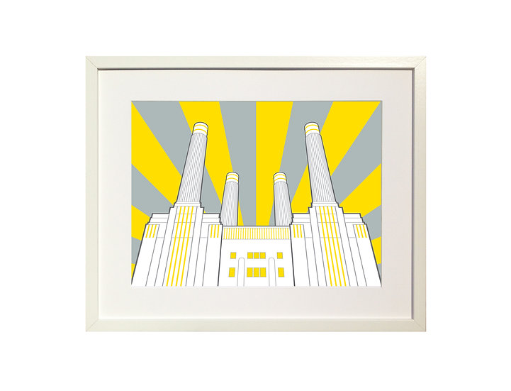 'Battersea Power Station' Limited Edition Print
