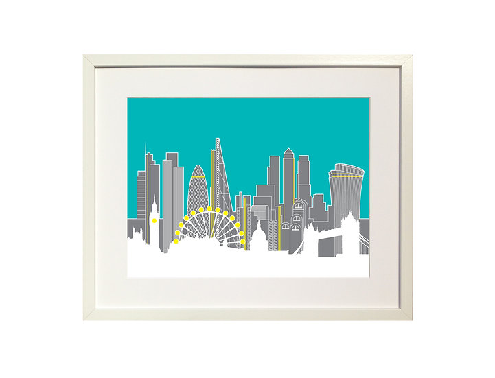 ' London Skyline' Limited Edition Print