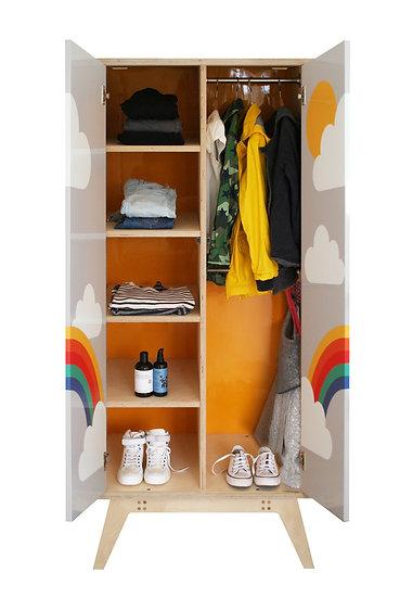 'Rainbow' Wardrobe