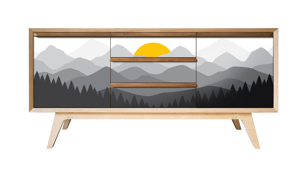 Mountain Sunrise Sideboard