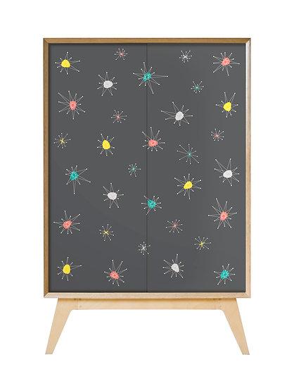 Grey Atomic cabinet