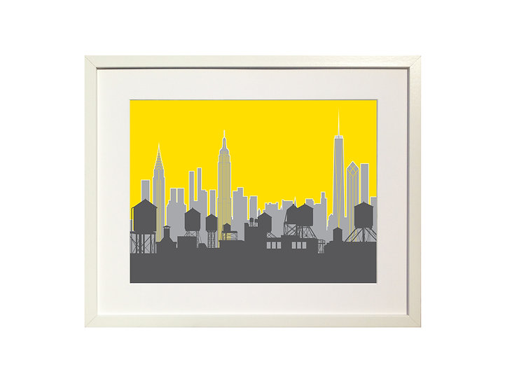 'New York Skyline' Limited Edition Print