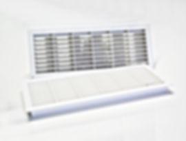 grille de ventilatin aluminium