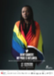 poster international day against homophobia and transpobia 2018 : showing my colors, still a crime