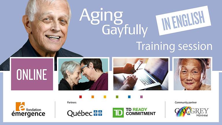 Formation-conférence Pour que vieillir soit gai     EN ANGLAIS