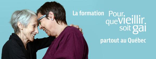 La formation Pour que vieillir soit gai partout au Québec