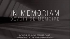 In Memoriam - Devoir de mémoire