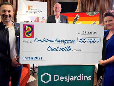 L'encan-bénéfice d'œuvres d'art de la Fondation Émergence rapporte 100 000 $