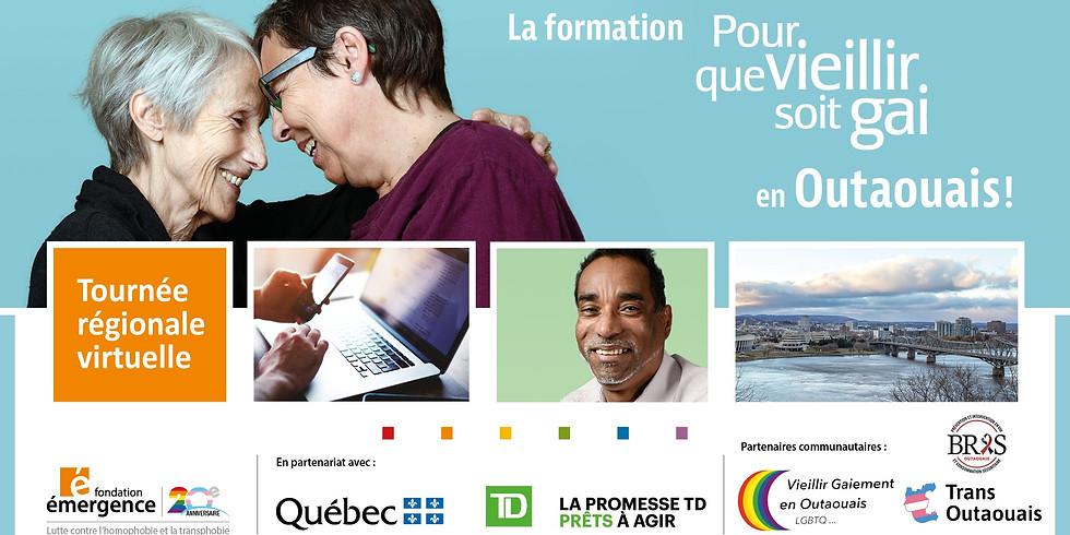Formation-conférence Pour que vieillir soit gai : Outaouais
