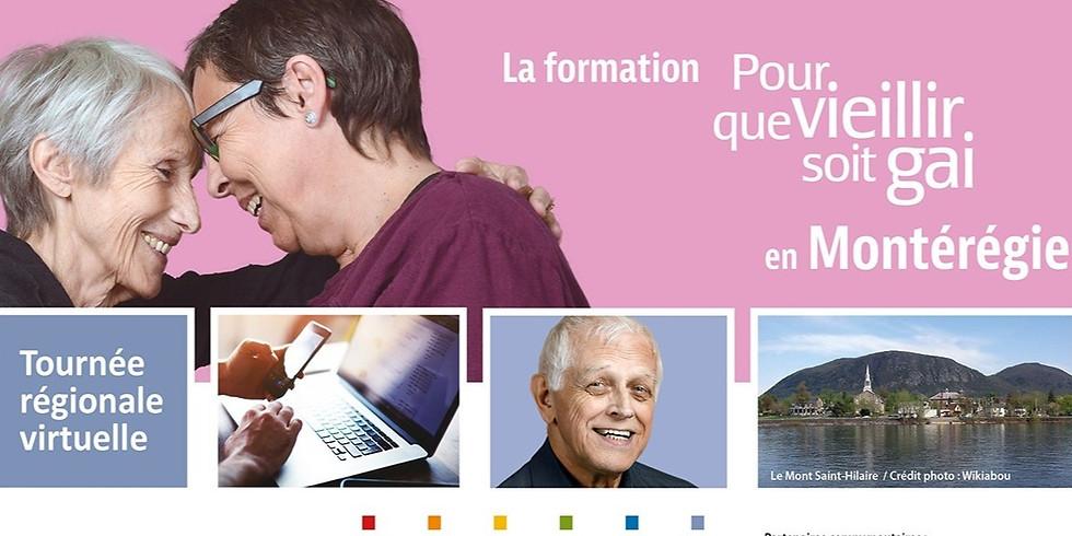Formation-conférence Pour que vieillir soit gai : Montérégie