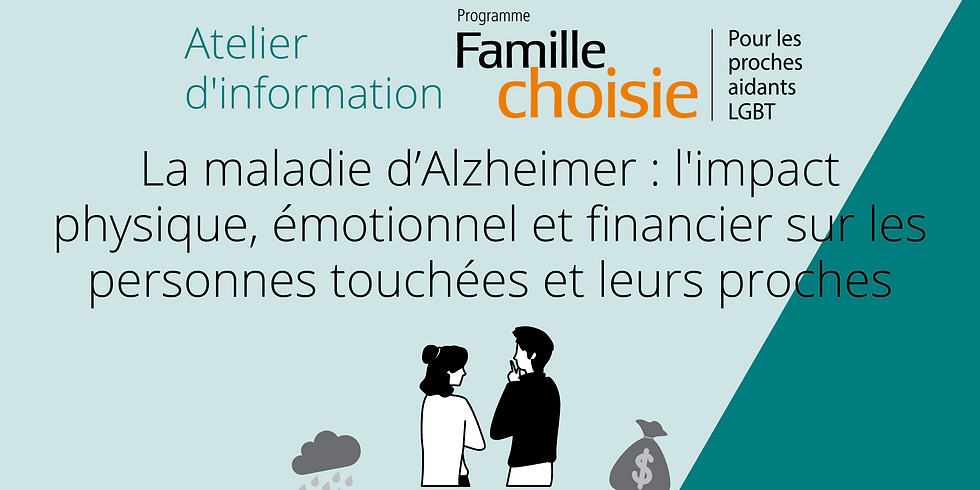 Alzheimer's disease: the physical, emotional and financial impact on those affected and their loved ones.