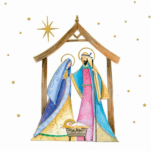 18165 Mary & Joseph