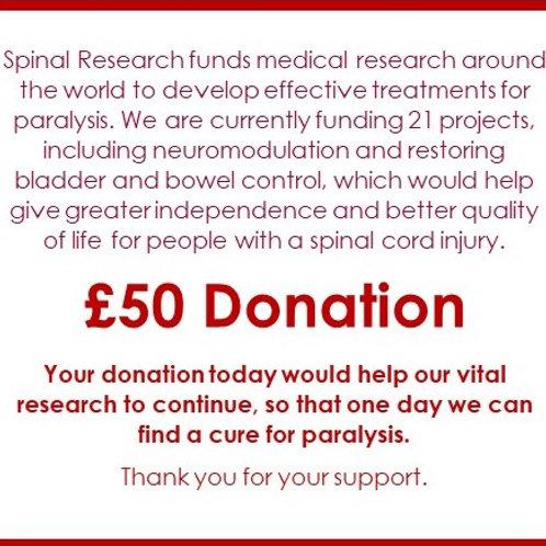 SR23 - £50 Donation
