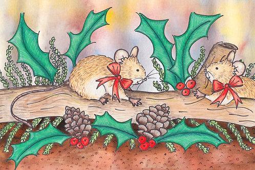 AFC03 Christmas Mice