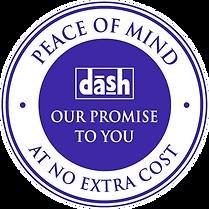 117 Dash Guarantee Stamp AW WH.BORD WHIT