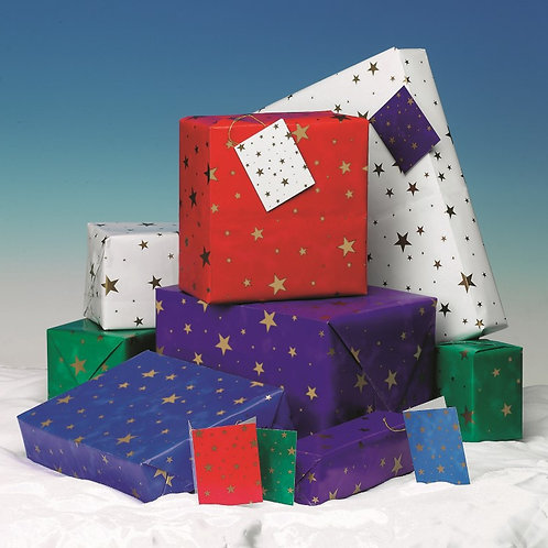 Stars Giftwrap